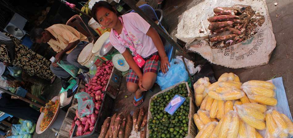Staytravelling Borneo Semporna Markt