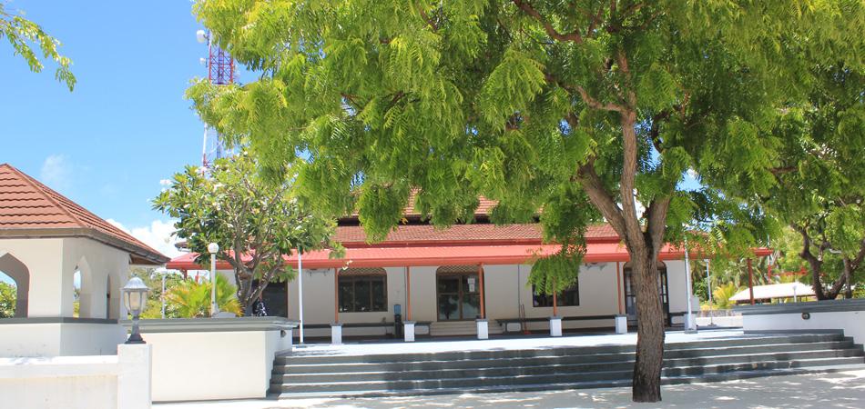Staytravelling Dharavandhoo Moschee