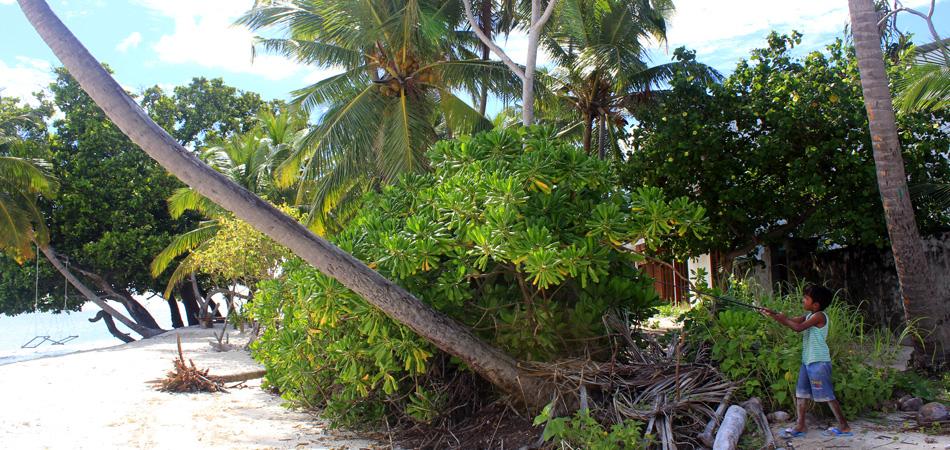 Staytravelling Malediven Dorfleben