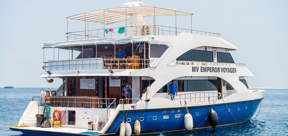 Staytravelling Malediven Tauchsafari Emperor Voyager