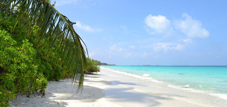 Staytravelling Malediven Strand Dhigurah