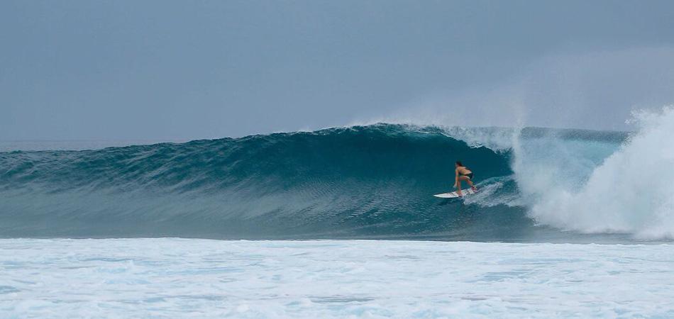 Staytravelling Malediven Surfen