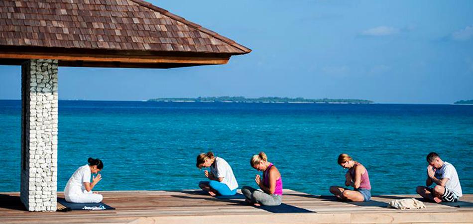Staytravelling Haminaadhoo Malediven Yoga