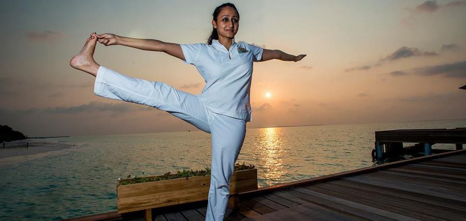 Staytravelling Malediven Hanimaadhoo Yoga