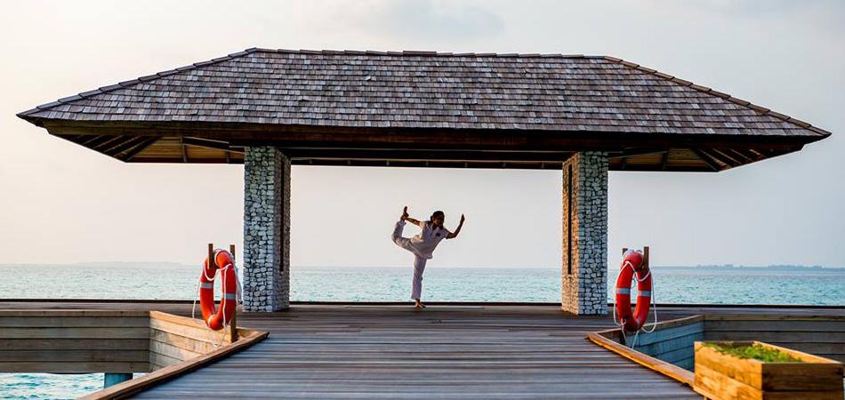 Staytravelling Malediven Yoga