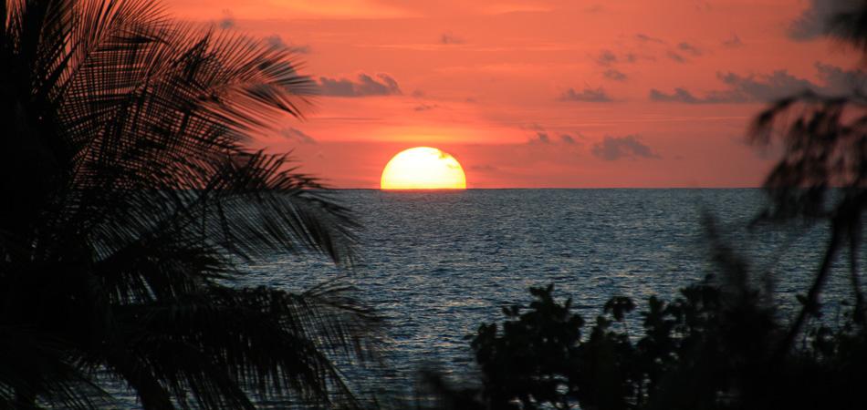 Staytravelling Malediven Rasdhoo Sunset