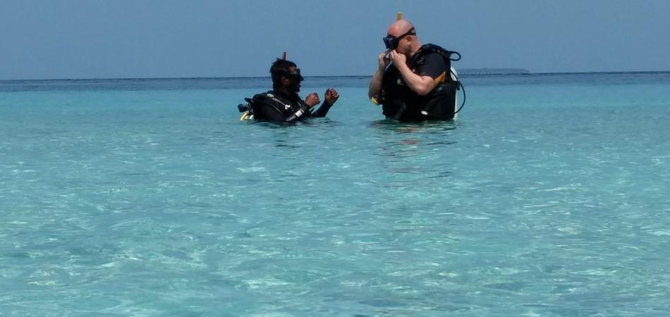 Staytravelling Malediven Tauchreise