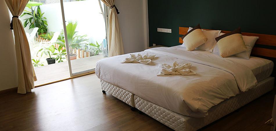 Staytravelling Rasdhoo Guesthouse Malediven