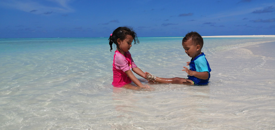 Staytravelling Malediven Familienurlaub