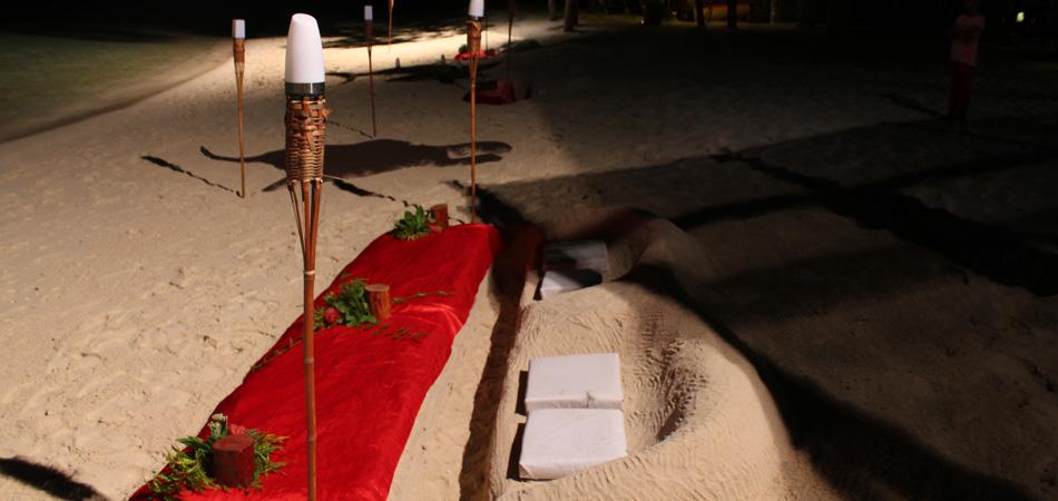 Staytravelling Malediven Schnorcheln Strand Dinner