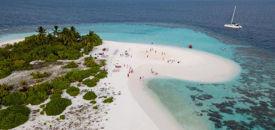 Staytravelling Katamaran Malediven