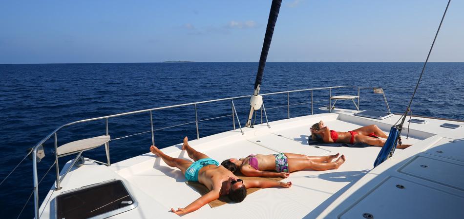 Staytravelling Katamaran Malediven Safari