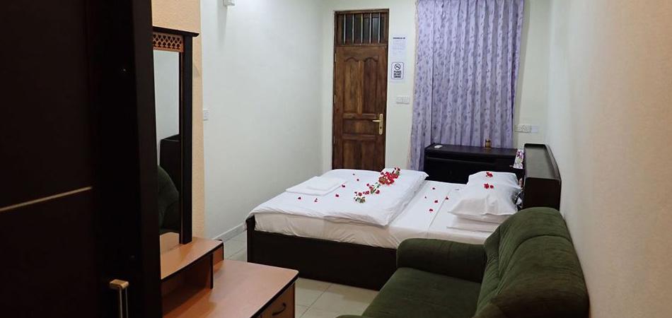 Staytravelling Malediven Fuvahmulah Inn Zimmer