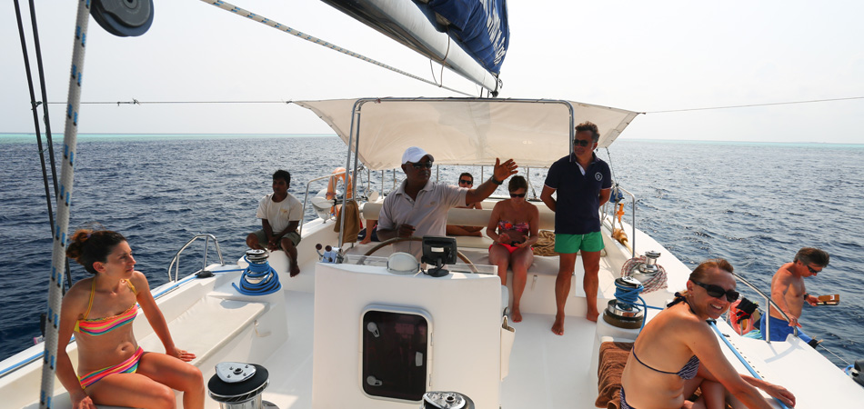 Staytravelling Malediven Katamaran Dream 60
