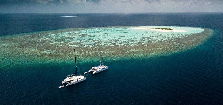 Staytravelling Malediven Katamaran Safari