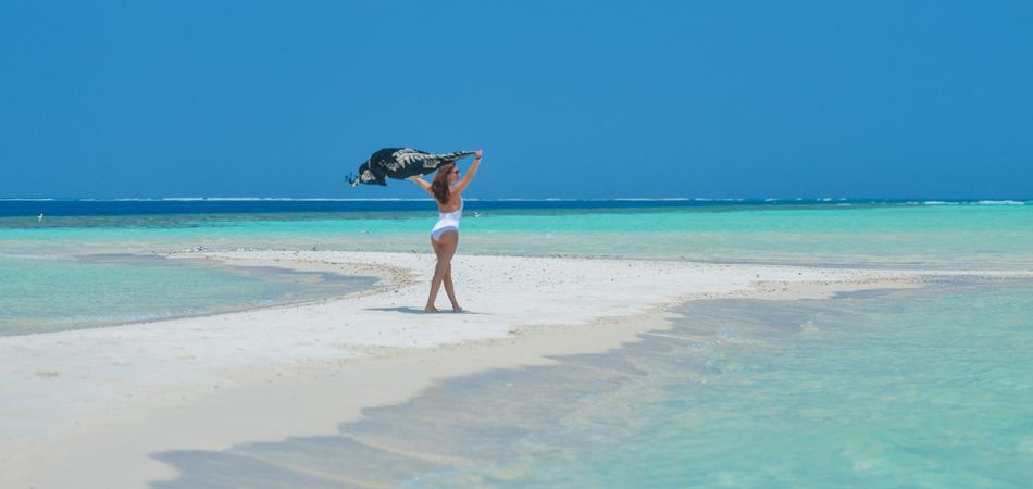 Staytravelling Malediven Sandbank